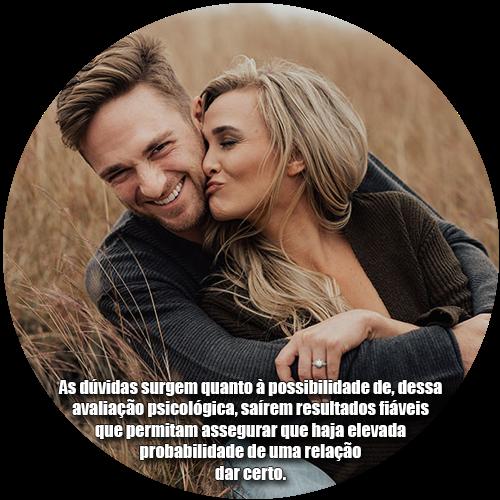 As dúvidas surgem quanto à possibilidade de, dessa avaliação psicológica, saírem resultados fiáveis que permitam assegurar que haja elevada probabilidade de uma relação dar certo.