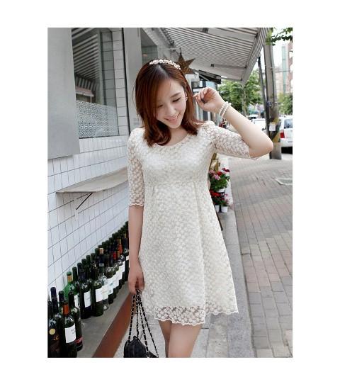 10 Model Baju Dress Brokat Pendek 2017 Gambar Modern Ala