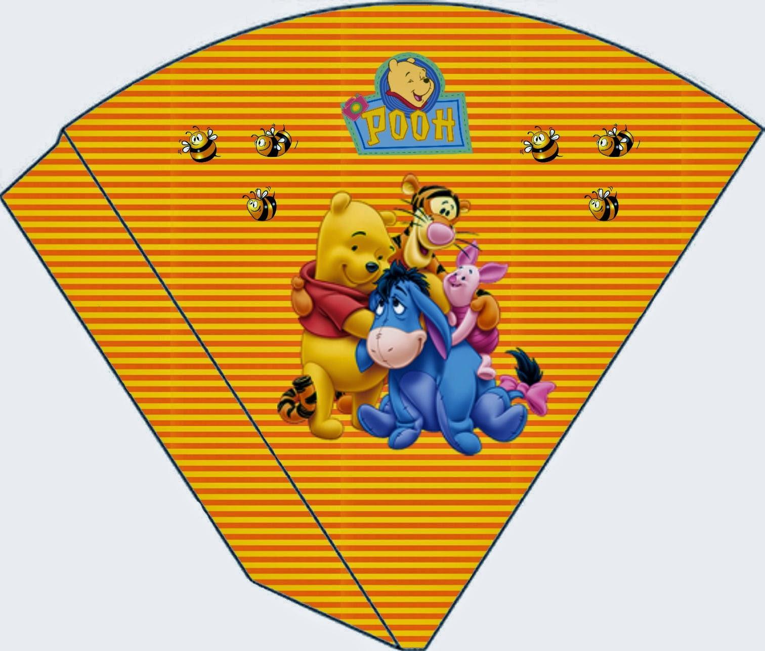 Amoroso Winnie the Pooh: Conos para Descargar Gratis.