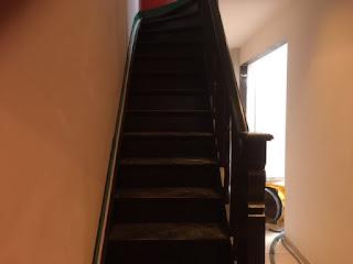 Renovatie van een trap