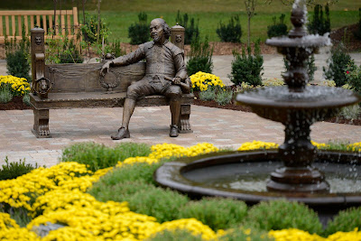 UIS unveils new Shakespeare Garden, marking the 400th anniversary of the writer's death