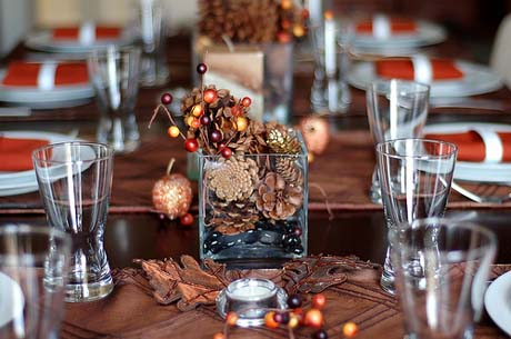 Happyroost thanksgiving table setting ideas - Thanksgiving table setting ideas ...