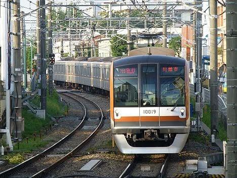 東急東横線 副都心線・東武東上線直通 急行 川越市行き2 東京メトロ7000系