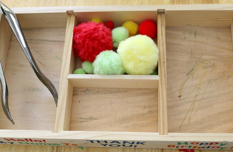 10 Apples up on Top Toddler Activity