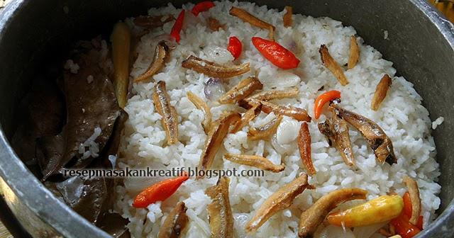 Resep Masakan Sunda, Nasi Liwet Ikan Teri Asin Tanpa Santan - Resep ...