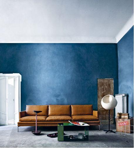 Anny trend intense donkere kleuren - Wall colours for living room ideas ...