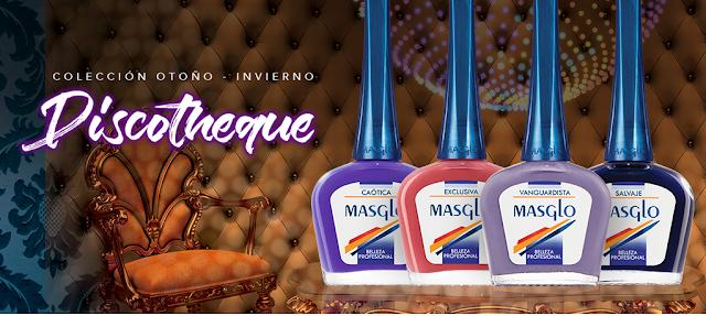 Colección Discotheque Masglo uñas manicura nailpolish beauty belleza laca esmalte manos