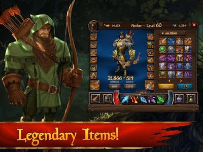 KingsRoad Mod Apk Full Coin