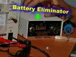 ye batttery eliminiter hai jisaka kaam hai battery ko boost karana jisse hum dead battery ko repair kar sakte hai.