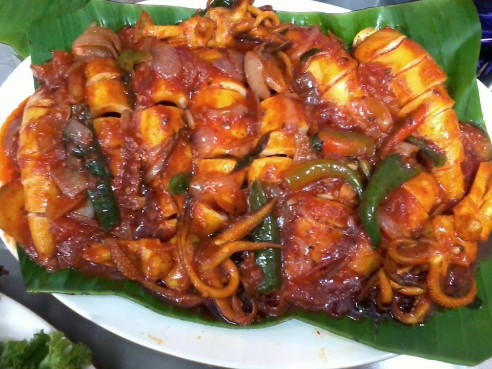 Sotong Masak Sweat Sour Mamak Style