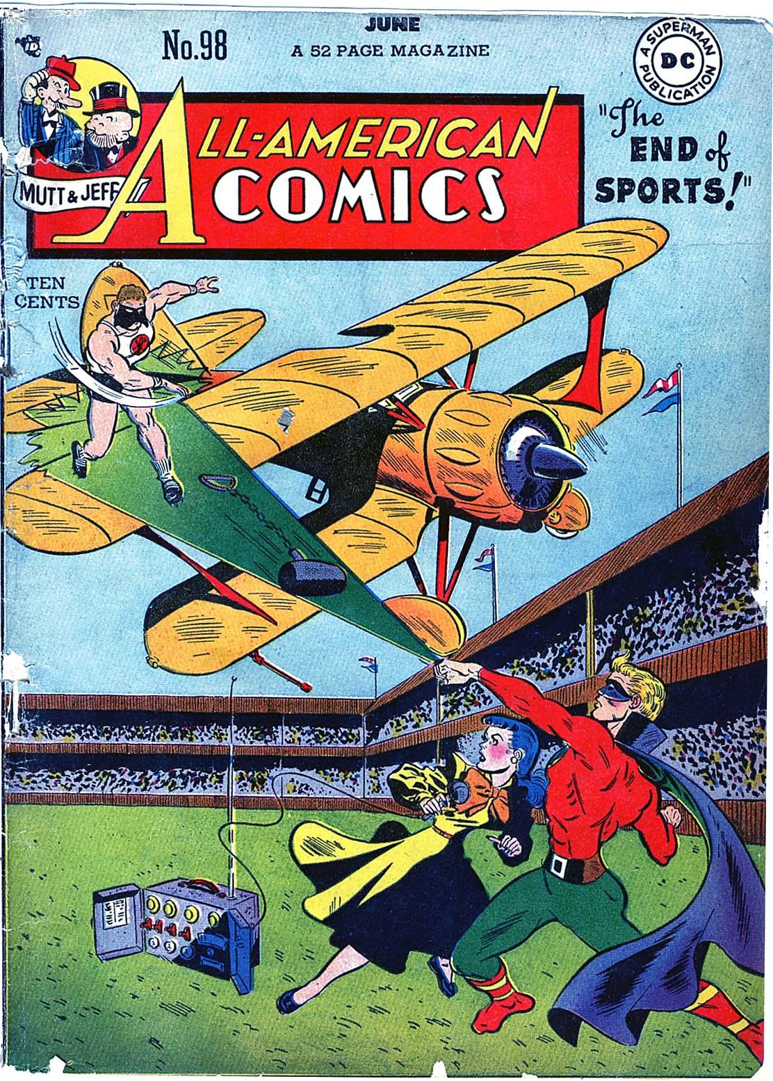 Read online All-American Comics (1939) comic -  Issue #98 - 1