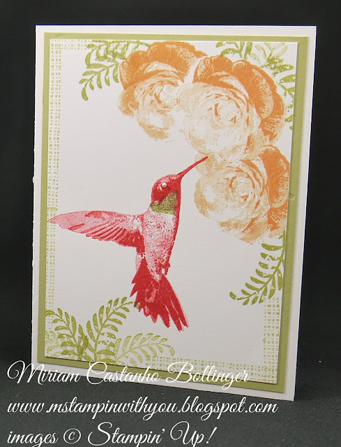 Miriam Castanho-Bollinger, #mstampinwithyou, stampin up, demonstrator, dsc, all occasions card, picture perfect stamp set, awesomely artistic, su