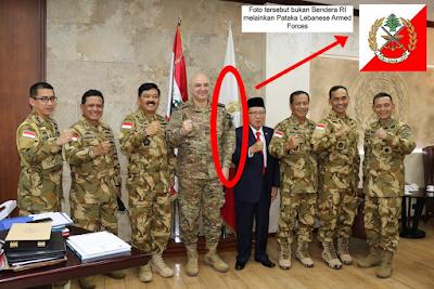 Panglima TNI Menjadi Korban Hoax Bendera Terbalik
