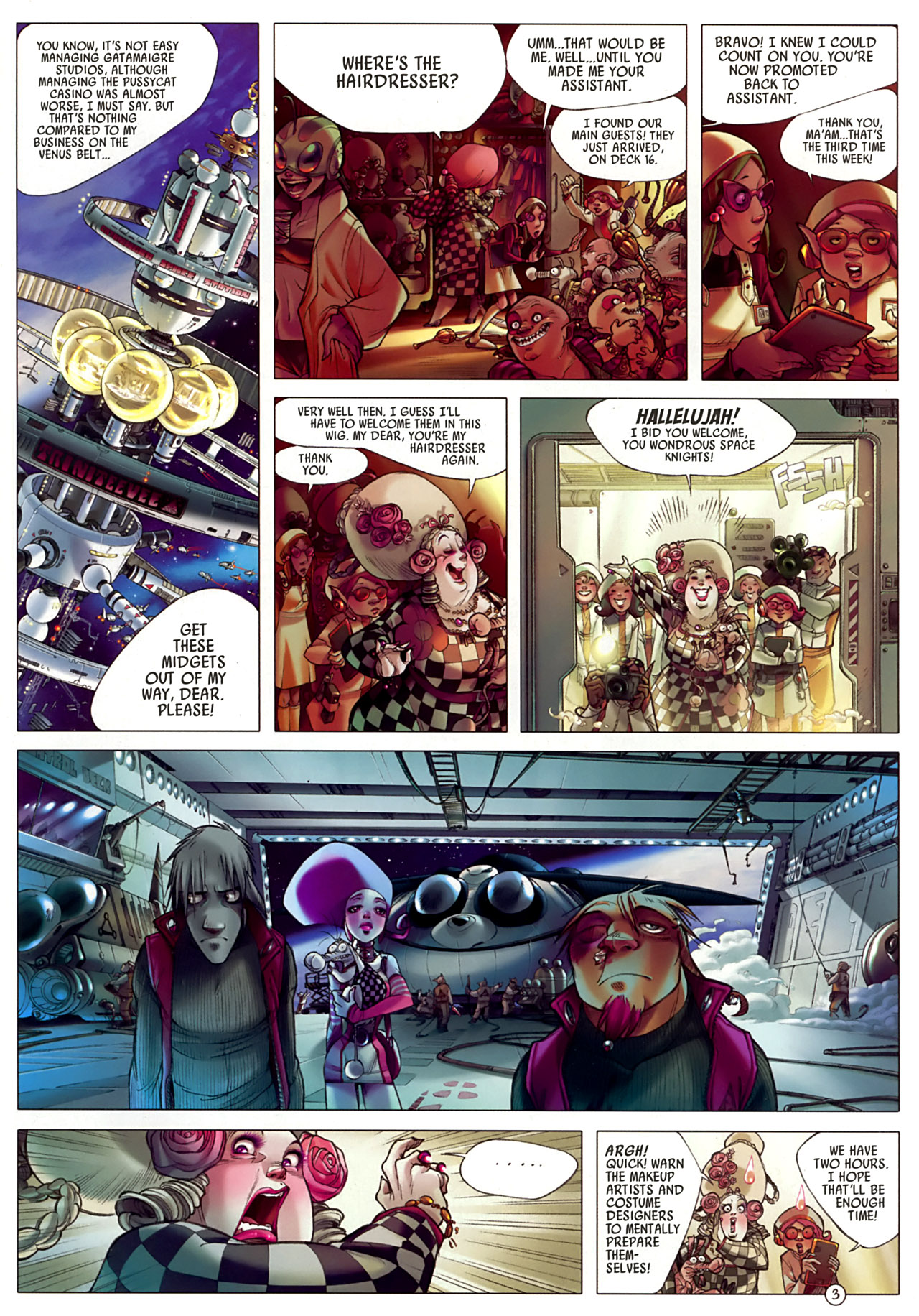 Read online Sky Doll comic -  Issue #3 - 7
