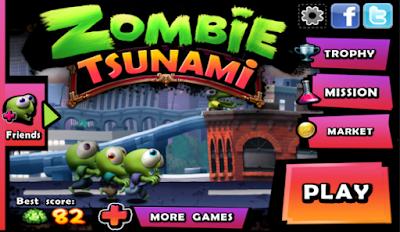 Zombie Tsunami Mod Apk Terbaru