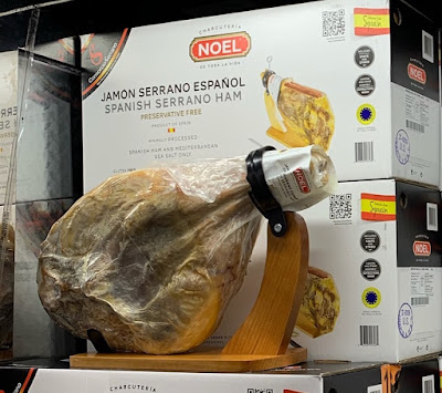 Enjoy a snack with a Noel Spanish Serrano Ham