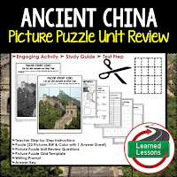 Ancient China, World History Test Prep, World History Test Review, World History Study Guide, World History Games, Ancient World History Bundle, Ancient World History Curriculum
