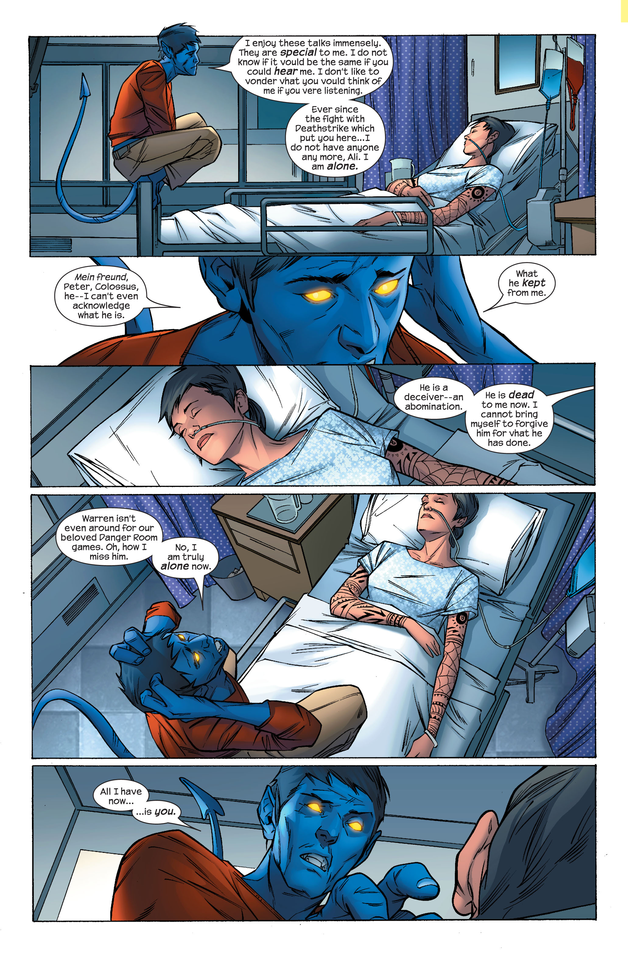 Read online Ultimate X-Men comic -  Issue #70 - 3