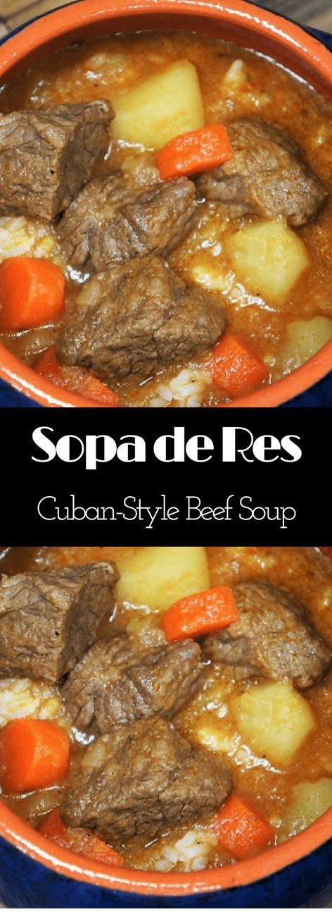 Cuban-Style Beef Soup