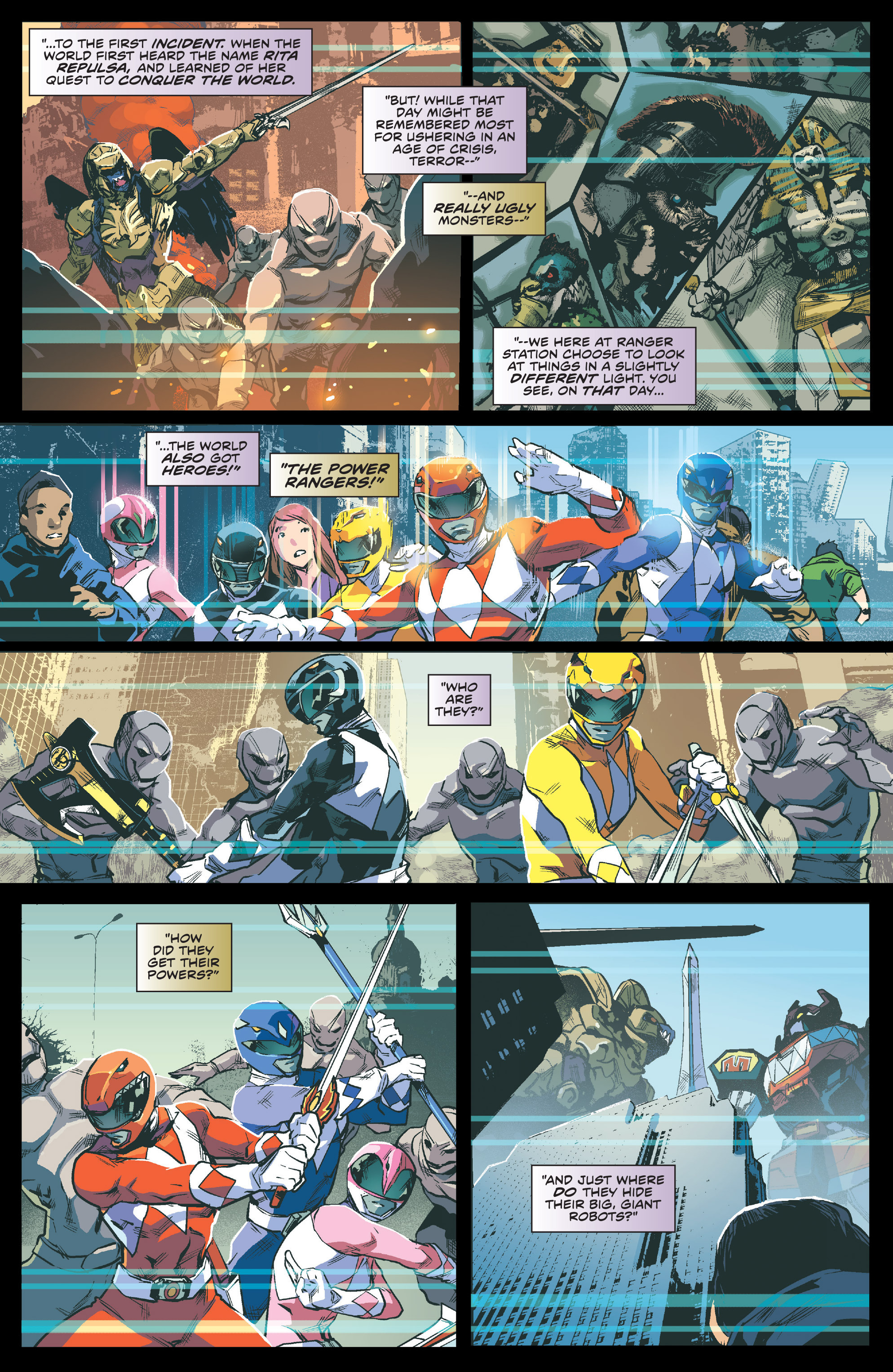 Read online Mighty Morphin Power Rangers comic -  Issue #1 - 4