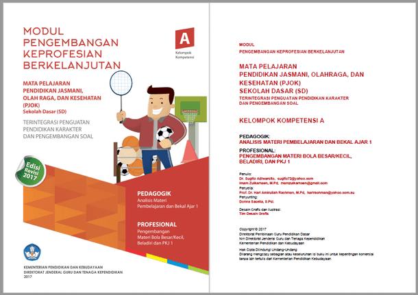Modul PKB PJOK (Pendidikan Jasmani, Olahraga dan Kesehatan) SD Revisi 2017