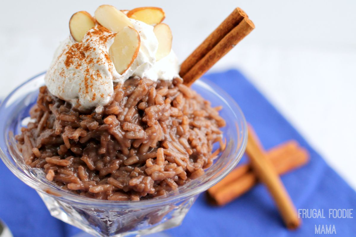 Chocolate Rice Pudding recommend
