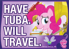 My Little Pony Have Tuba. Will Travel. Series 2 Trading Card