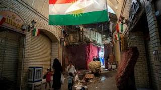تظاهرات شعبية كردية في شمال العراق ضد مسعود بارزاني و استفتائة ! بسبب وجود ازمة حادة وغير مسبوقة في الغذاء والوقود