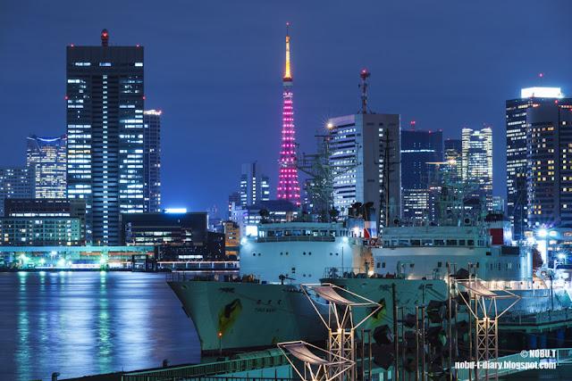 東京タワー「セーブ・ザ・チルドレン レッドライトアップ」