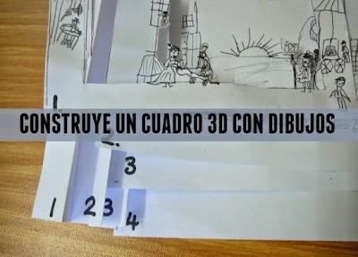 Como hacer de un Dibujo un Cuadro con Efecto Dimensional