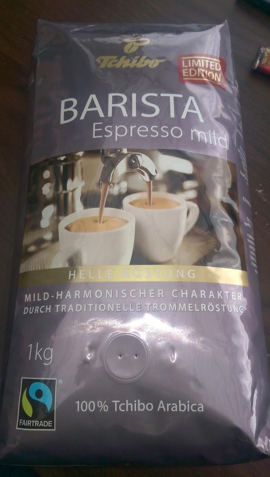 Produkttest: Tchibo Barista Espresso mild ~ Lisa´s Produkttest-Welt