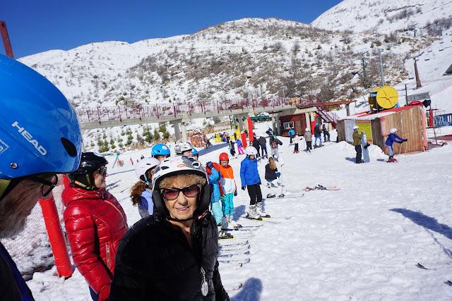 סקי בחרמון