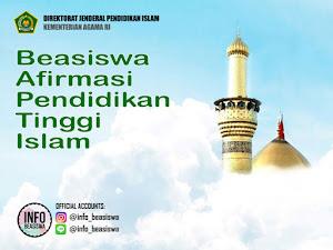 Beasiswa Afirmasi Pendidikan Tinggi Islam untuk Daerah 3T