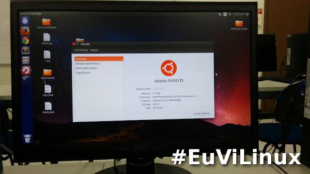 Ubuntu é utilizado na UFRRJ