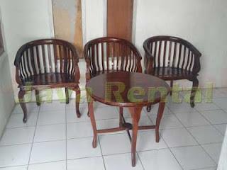 Set Meja dan Kursi Betawi