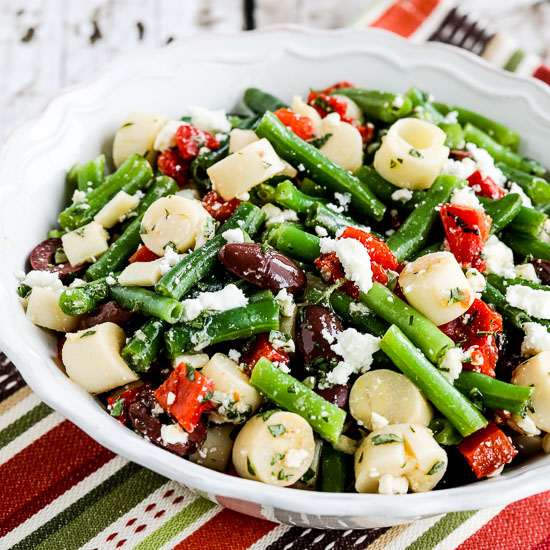 25 Favorite Amazing Salads with Feta Cheese found on KalynsKitchen.com
