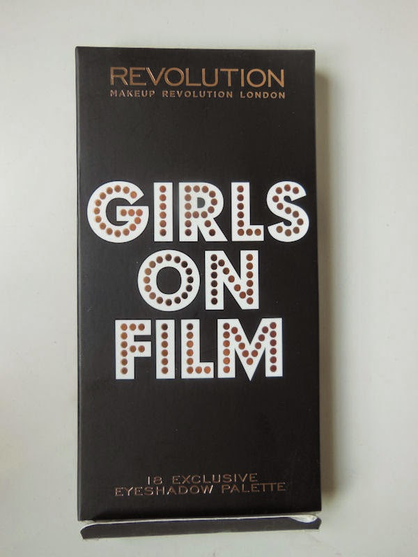 Girls on Film palette Makeup Revolution