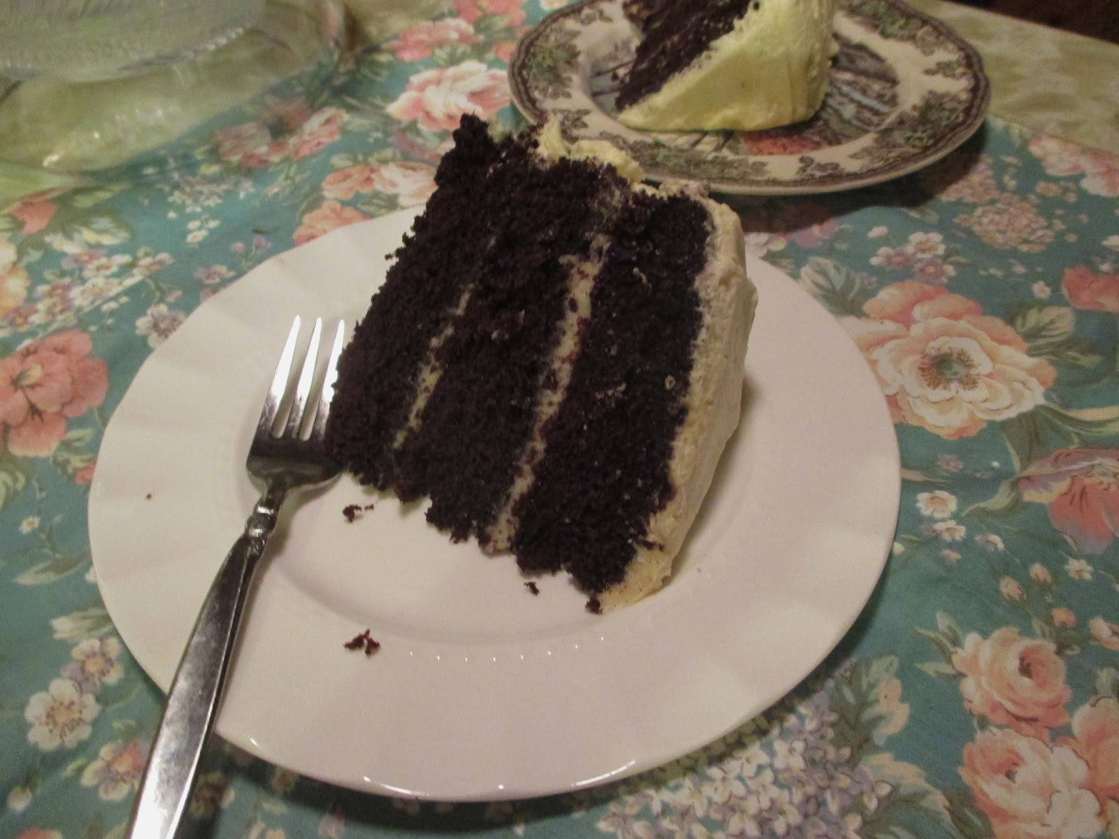 Nana S Chocolate Vinegar Cake