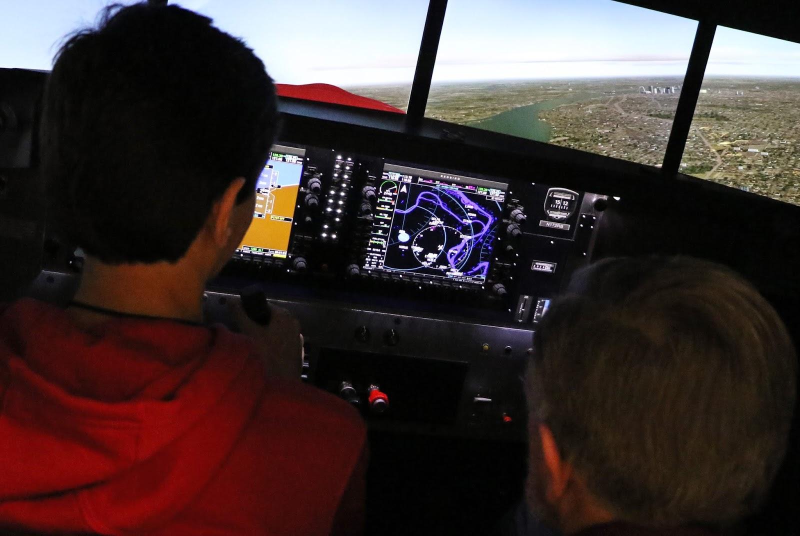 SOAR INTO STEM SESSION THREE: FLIGHT PLANNING, REDBIRD