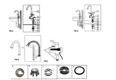 pareri robinet Delimano Digital PRO manual de utilizare cu instructiuni de folosire