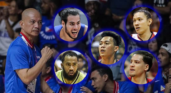 LIST: Gilas Pilipinas 14-man pool 2ND Round 2019 FIBA World Cup Qualifiers Asia