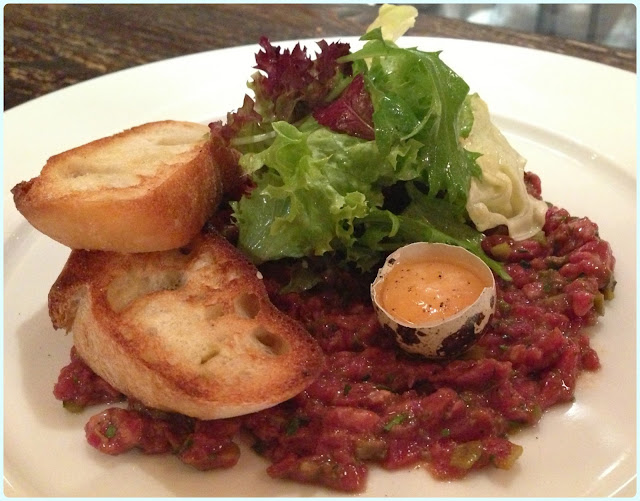 Little Social, London - Steak Tartare