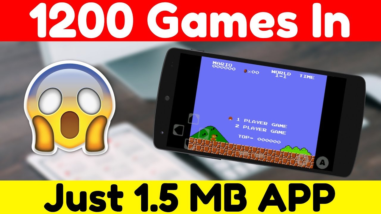 more then 1200 game in 1 app (just 1 5 MB) You Should