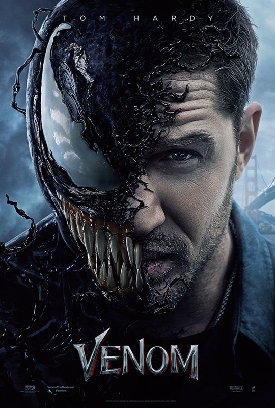 Venom, Marvel Cinematic Universe, Marvel Comics, Marvel Studios, superhero, Tom Hardy, Klips Malaysia, Movie Review by Rawlins, Rawlins GLAM