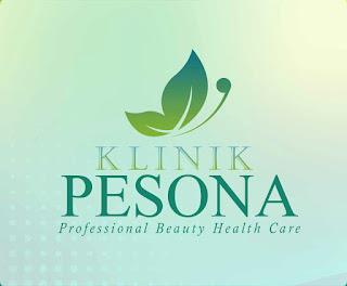 Logo Klinik Kecantikan PESONA