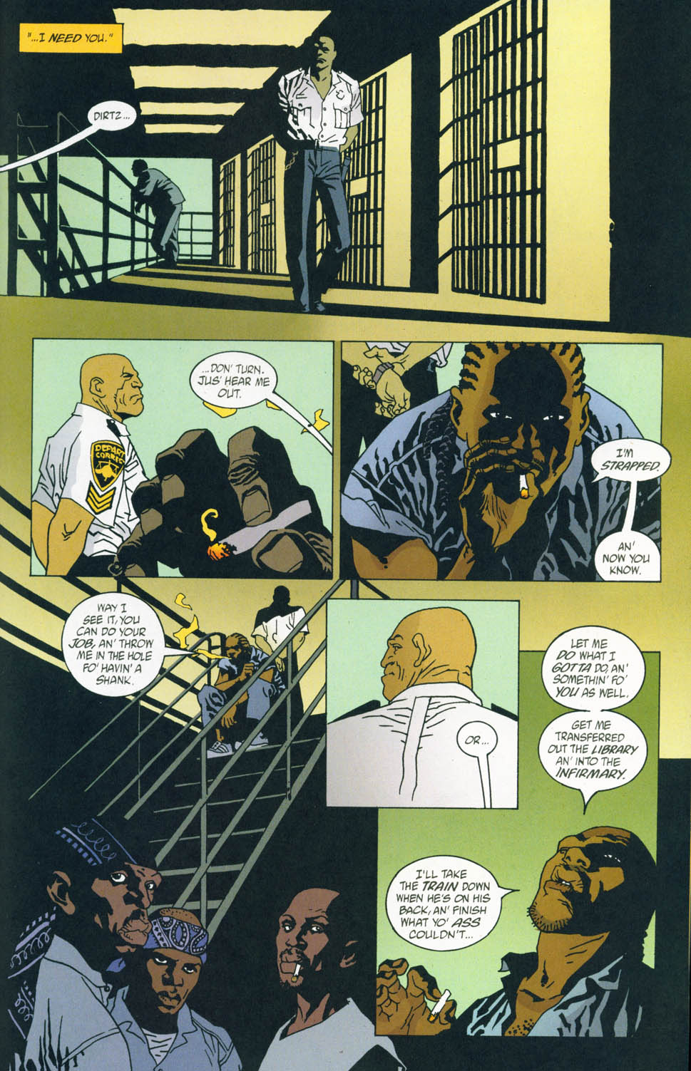 Read online 100 Bullets comic -  Issue #45 - 21