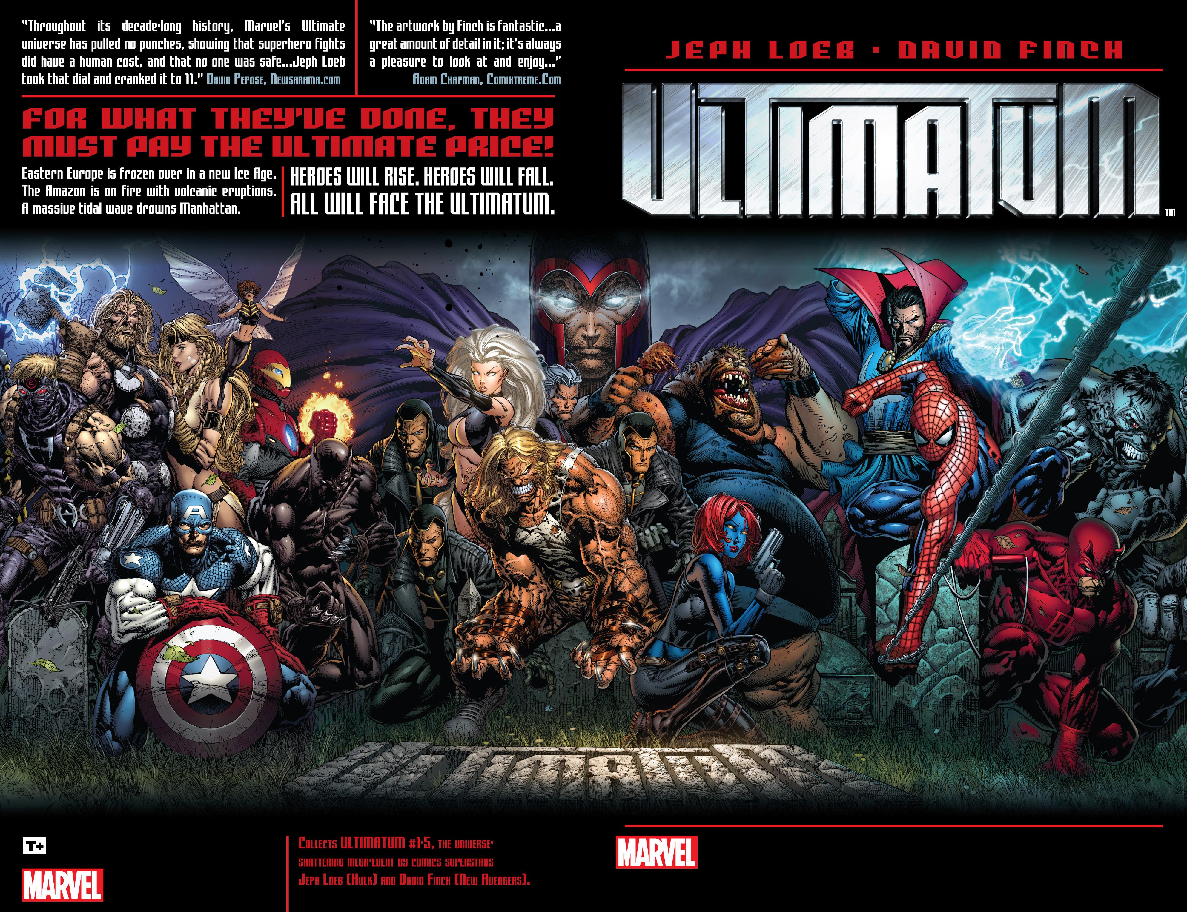Read online Ultimatum comic -  Issue # _TPB - 2