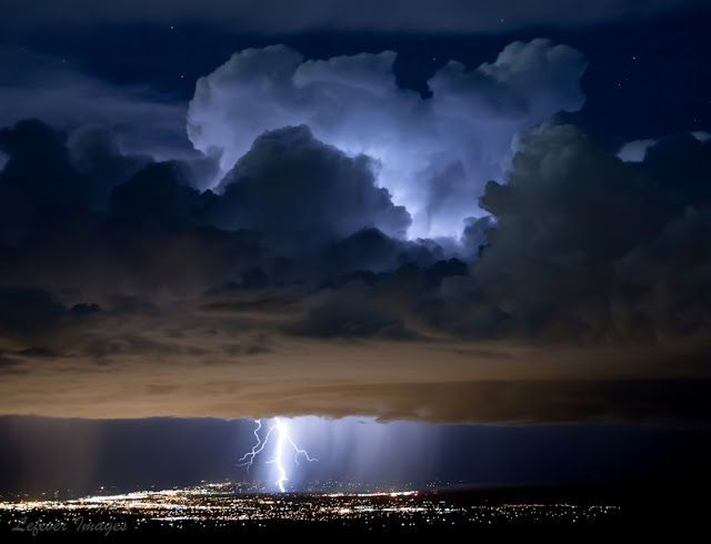 Lightning over Colorado