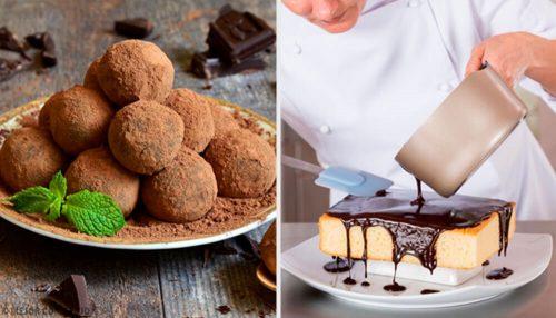 Recette Facile D Un Gateau A La Truffe Au Chocolat Good Cookery France