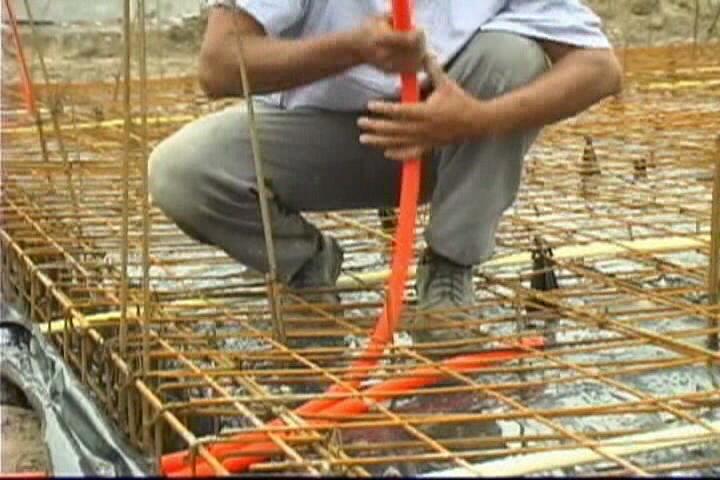 Instalaciones el ctricas residenciales instalaci n de tubo conduit flexible en losas de cimentaci n - Tuberia para instalacion electrica ...